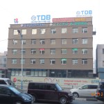 A small hospital in Ulaanbaatar, Mongolia