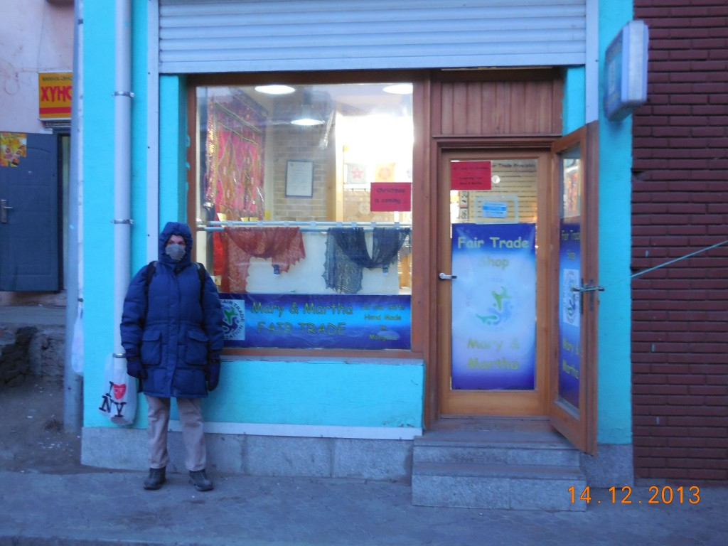 Mary and Martha's Fair Trade Shop, an iconic Ulaanbaatar store.