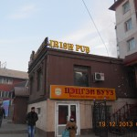 Two Mongolian loves combined - Irish pubs and Mongolian food!